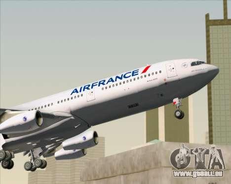 Airbus A340-313 Air France (New Livery) für GTA San Andreas Innen