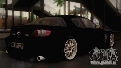 Mazda RX-8 Drift für GTA San Andreas linke Ansicht