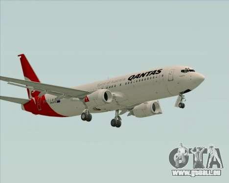 Boeing 737-838 Qantas für GTA San Andreas linke Ansicht