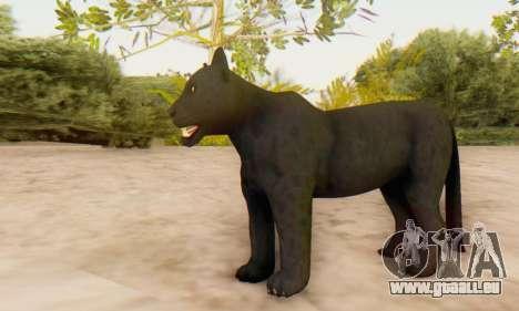 Black Panther (Mammal) für GTA San Andreas her Screenshot