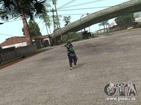 Poser gangster pour GTA San Andreas cinquième écran