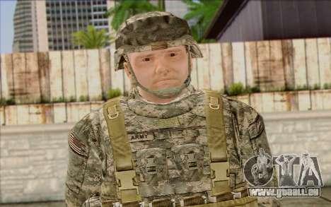 Les soldats de l'Armée AMÉRICAINE (ArmA II) 1 pour GTA San Andreas troisième écran
