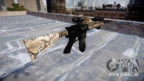 Automatische Gewehr Colt M4A1 viper für GTA 4 Sekunden Bildschirm