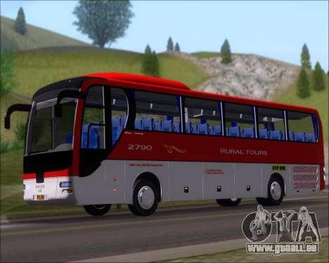 MAN Lion Coach Rural Tours 2790 pour GTA San Andreas laissé vue