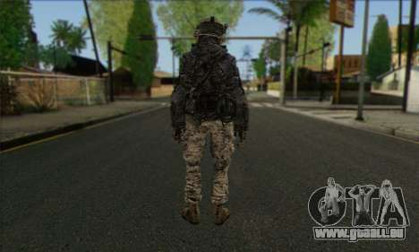 Task Force 141 (CoD: MW 2) Skin 4 für GTA San Andreas zweiten Screenshot