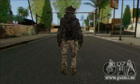 Task Force 141 (CoD: MW 2) Skin 4 pour GTA San Andreas deuxième écran