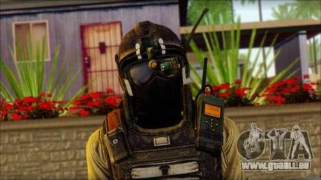 Mercenaire (SC: Blacklist) v1 pour GTA San Andreas troisième écran