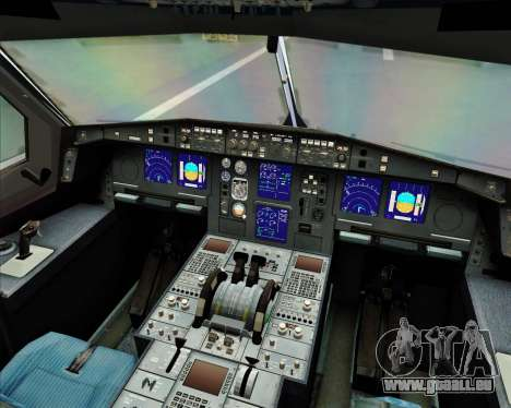 Airbus A330-300 Air Asia X pour GTA San Andreas salon