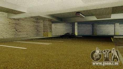 De nouvelles textures Parking dans la LSPD pour GTA San Andreas deuxième écran