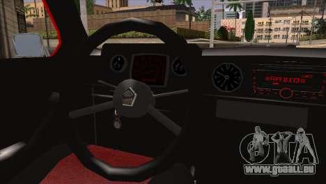 ZAZ M pour GTA San Andreas sur la vue arrière gauche