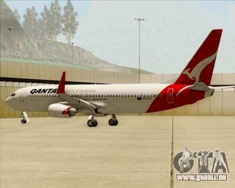 Boeing 737-838 Qantas pour GTA San Andreas moteur