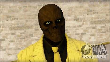 Black Mask From Batman: Arkham Origins pour GTA San Andreas troisième écran