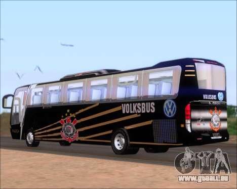 Busscar Vissta Buss LO Faleca für GTA San Andreas zurück linke Ansicht
