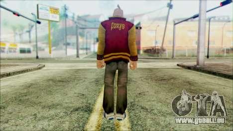 Manhunt Ped 17 pour GTA San Andreas deuxième écran