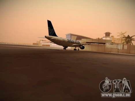 Airbus A320-211 Aigle Azur für GTA San Andreas rechten Ansicht