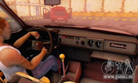 Dacia 1310 TX Stock v1 pour GTA San Andreas vue arrière