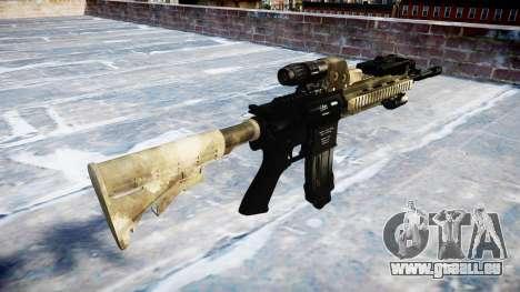 Automatic rifle Colt M4A1 Mack gibt es für GTA 4 Sekunden Bildschirm