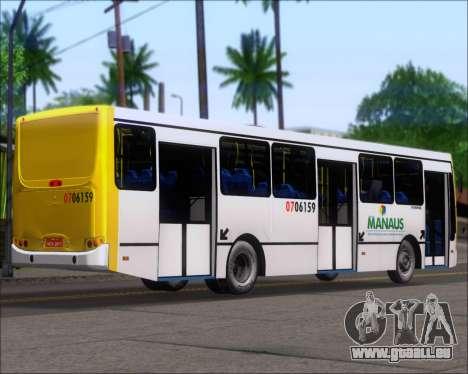 Caio Induscar Apache S21 Volksbus 17-210 Manaus pour GTA San Andreas sur la vue arrière gauche