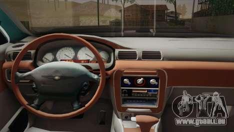 Chrysler 300M pour GTA San Andreas sur la vue arrière gauche