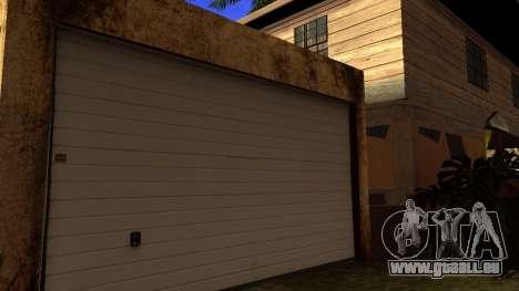 Neue HD-Texturen Häuser auf der grove street v2 für GTA San Andreas dritten Screenshot