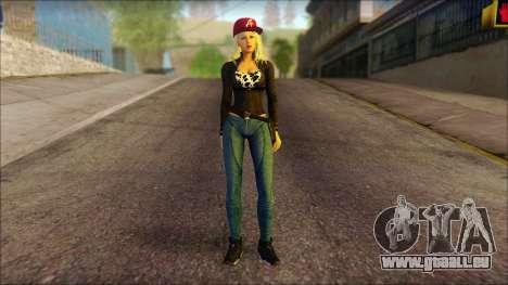 Eva Girl v2 für GTA San Andreas