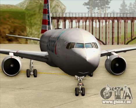 Boeing 767-323ER American Airlines pour GTA San Andreas salon