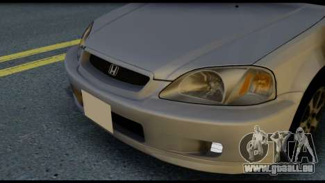 Honda Civic Si 1999 pour GTA San Andreas vue intérieure