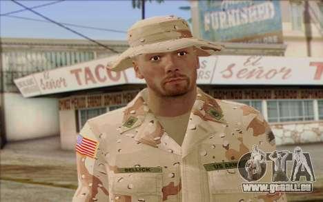 California National Guard Skin 1 für GTA San Andreas dritten Screenshot