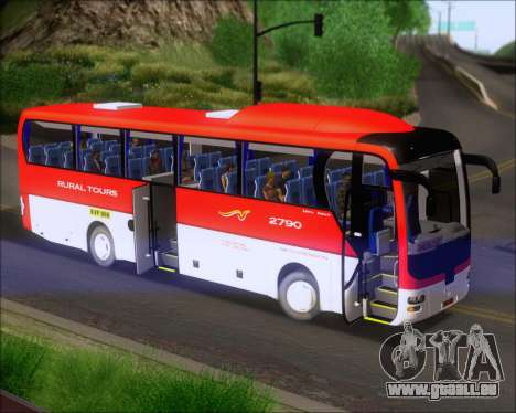 MAN Lion Coach Rural Tours 2790 für GTA San Andreas Innenansicht