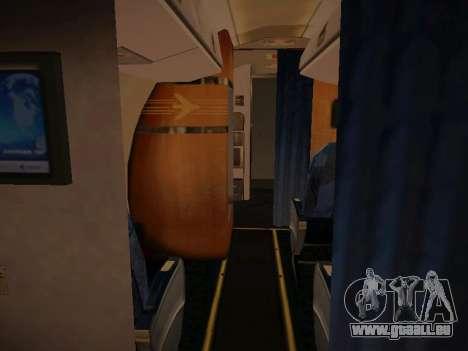 Embraer E190 Azul Brazilian Airlines für GTA San Andreas Innen