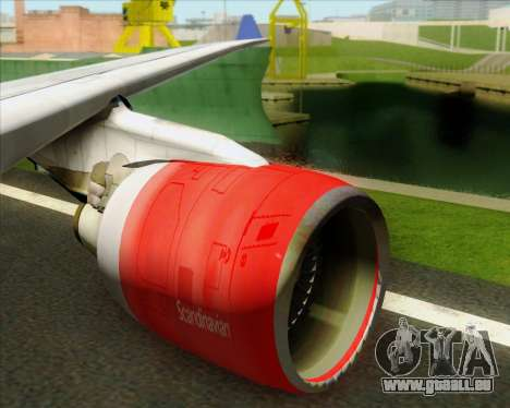 Airbus A330-300 Scandinavian Airlines System. pour GTA San Andreas salon