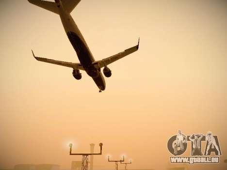 Embraer E190 Azul Brazilian Airlines pour GTA San Andreas vue de côté