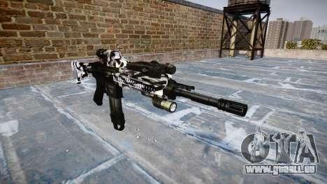 Automatische Gewehr Colt M4A1 Sibirien für GTA 4