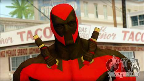 Ultimate Deadpool The Game Cable pour GTA San Andreas troisième écran