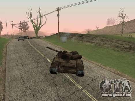 T-72 pour GTA San Andreas vue de droite