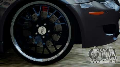 BMW M5 E60 v1 pour GTA 4 est un droit