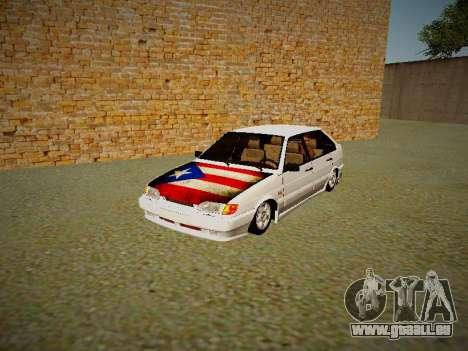 VAZ 2114 für GTA San Andreas linke Ansicht