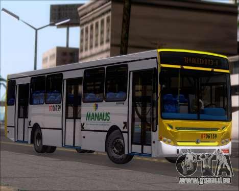 Caio Induscar Apache S21 Volksbus 17-210 Manaus pour GTA San Andreas roue