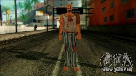 Manhunt Ped 8 pour GTA San Andreas