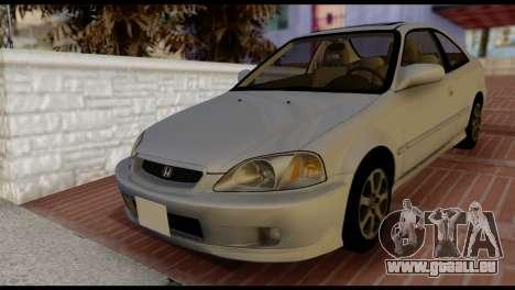 Honda Civic Si 1999 für GTA San Andreas