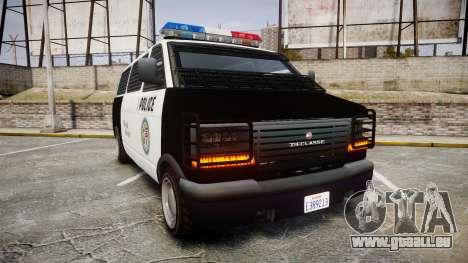 Declasse Burrito Police Transporter ROTORS [ELS] pour GTA 4