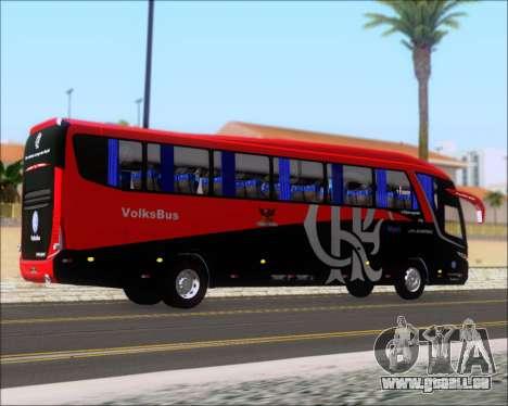 Marcopolo Paradiso 1200 G7 4X2 C.R.F Flamengo pour GTA San Andreas moteur