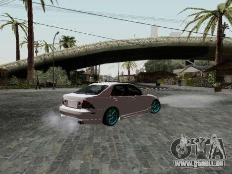 Toyota Altezza Addinol pour GTA San Andreas laissé vue