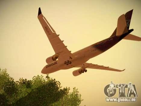 Airbus A330-200 Air Transat für GTA San Andreas Innen