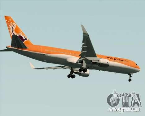 Boeing 767-300ER Australian Airlines pour GTA San Andreas vue de droite