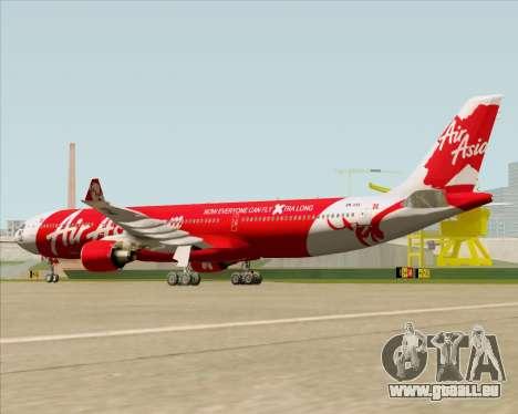 Airbus A330-300 Air Asia X pour GTA San Andreas vue de droite