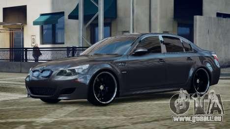 BMW M5 E60 v1 pour GTA 4