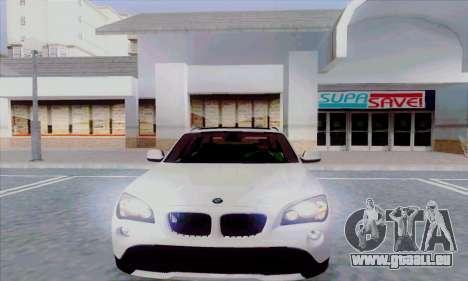 Bmw X1 pour GTA San Andreas laissé vue