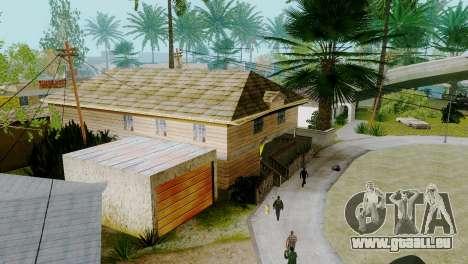 De nouvelles textures maisons sur grove street pour GTA San Andreas