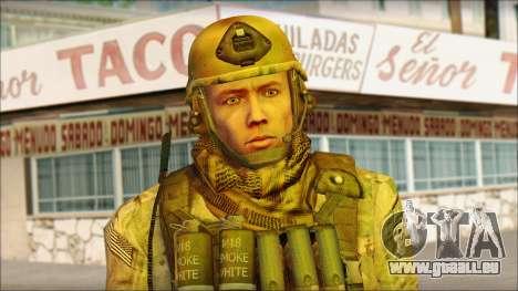 USA Soldier v2 pour GTA San Andreas troisième écran